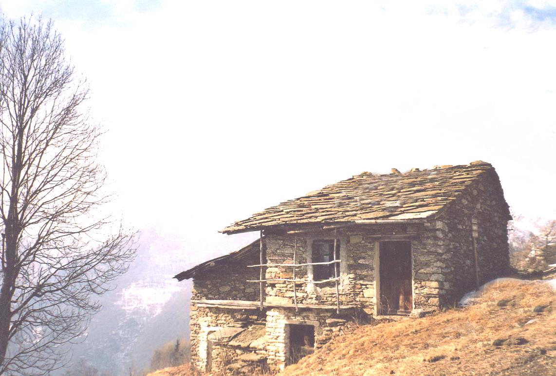 Le case in rovina for Case a pianta aperta
